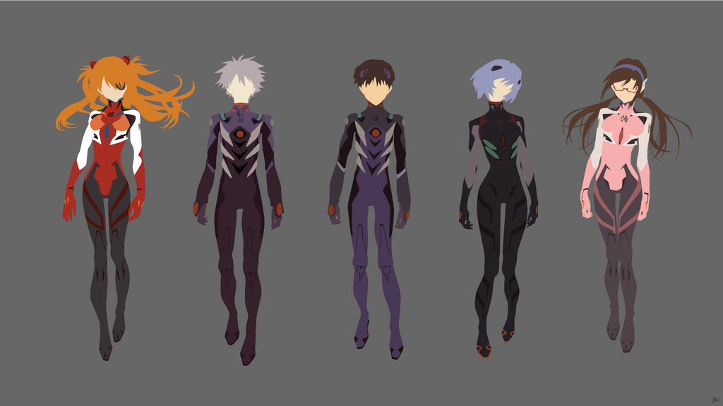 Neon Genesis Evangelion By Greenmapple17 On DeviantArt