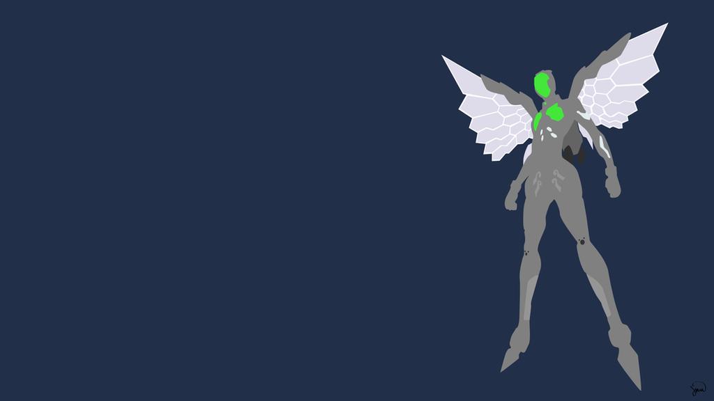 Silver Crow By Greenmapple17