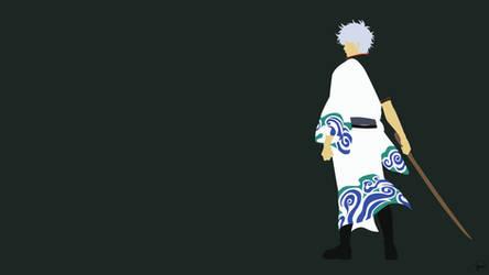 Gintoki Sakata {Gintama} by greenmapple17