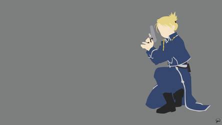 Riza Hawkeye (Fullmetal Alchemist) Minimalism