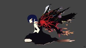 Touka Kirishima {Tokyo Ghoul} by greenmapple17