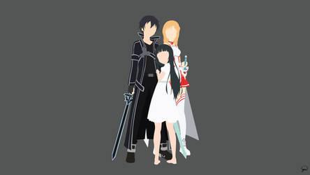 Kirito/Asuna/Yui {Sword Art Online}
