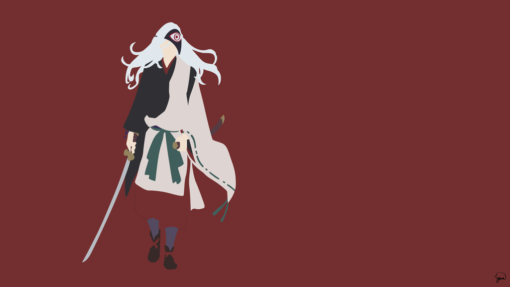 Rabou noragami minimalist wallpaper by greenmapple17 on for Deviantart minimal wallpaper