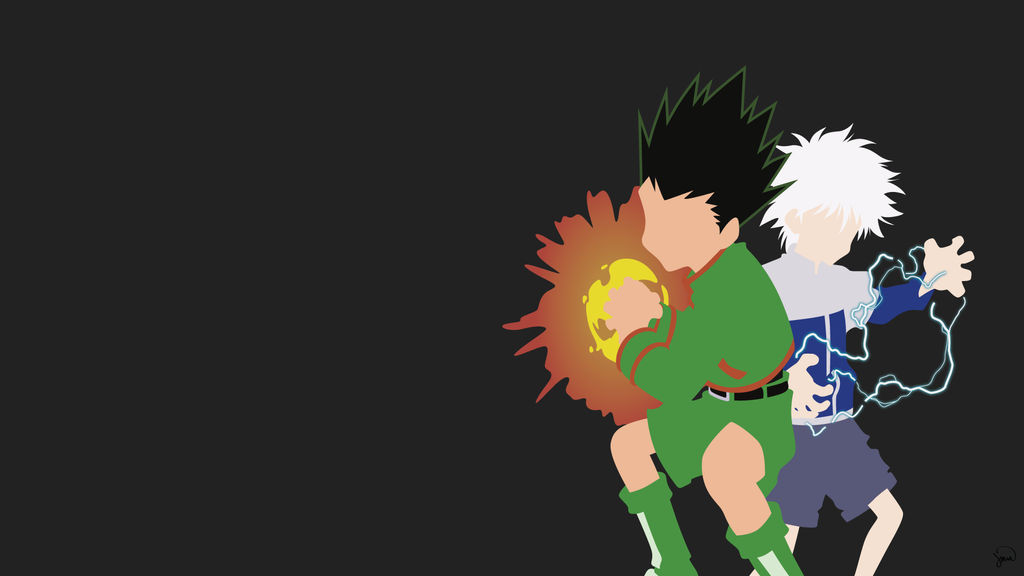 Gonkillua Hunter X Hunter Minimalist Wallpaper By