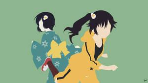 Karen/Tsukihi Araragi (Bakemonogatari) Minimalism