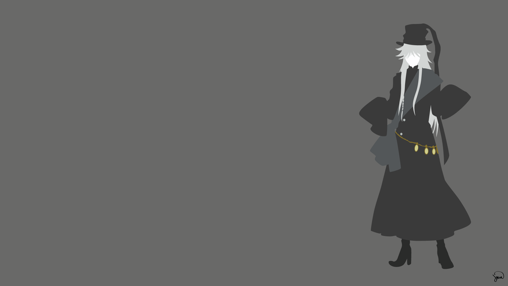 Undertaker Kuroshitsuji Minimalist Wallpaper By Greenmapple17