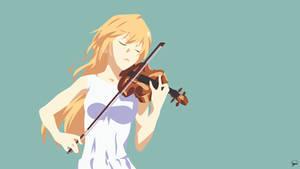 Kaori Miyazono {Shigatsu wa Kimi no Uso} Vector by greenmapple17