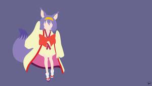 Hatsuse Izuna (No Game No Life) Minimalism by greenmapple17