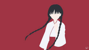 Izumiko Suzuhara (Red Data Girl) Minimalism by greenmapple17