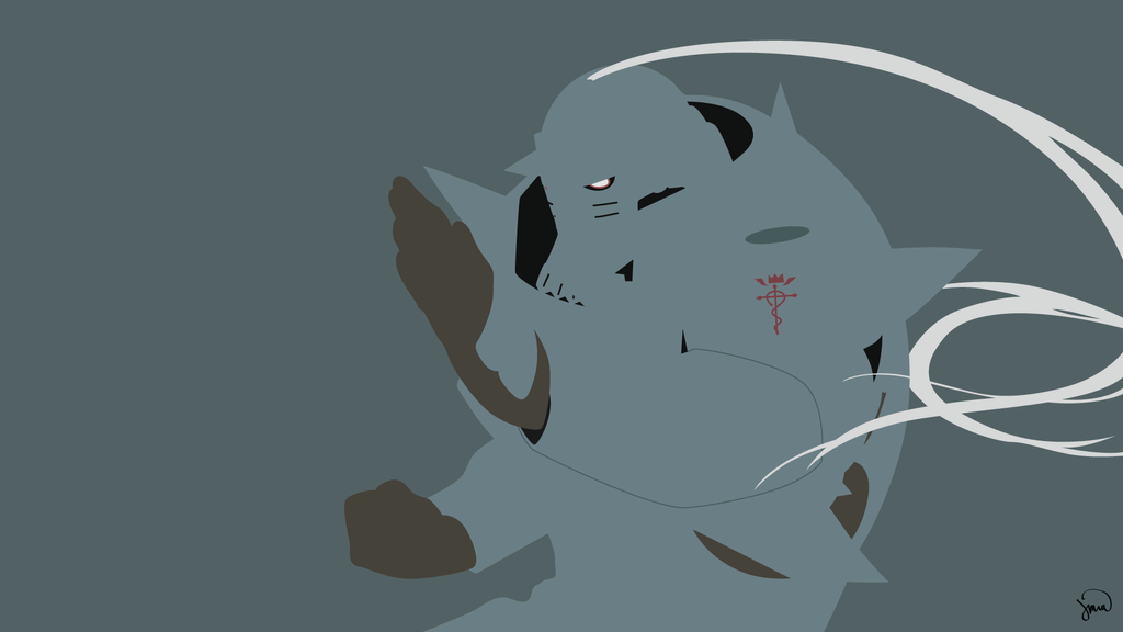 Alphonse Elric Fullmetal Alchemist Minimalism By Greenmapple17
