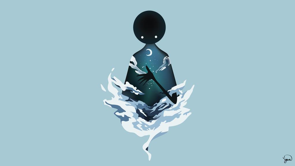 Deemo- Reflection (Mirror Night) by greenmapple17