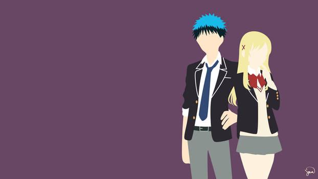 Yamada/Shiraishi {Yamada-kun to 7-nin no Majo} by greenmapple17