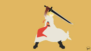 Alibaba Saluja (Magi) Minimalist Wallpaper by greenmapple17