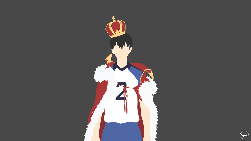 Kageyama Tobio (Haikyuu!!) Minimalist Wallpaper by ...