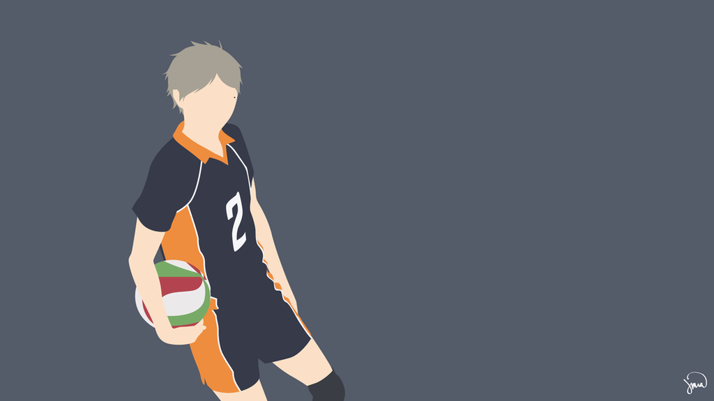 Sugawara Koushi (Haikyuu!!) Minimalist Wallpaper by ...