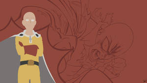 Saitama {One Punch Man} Vector by greenmapple17
