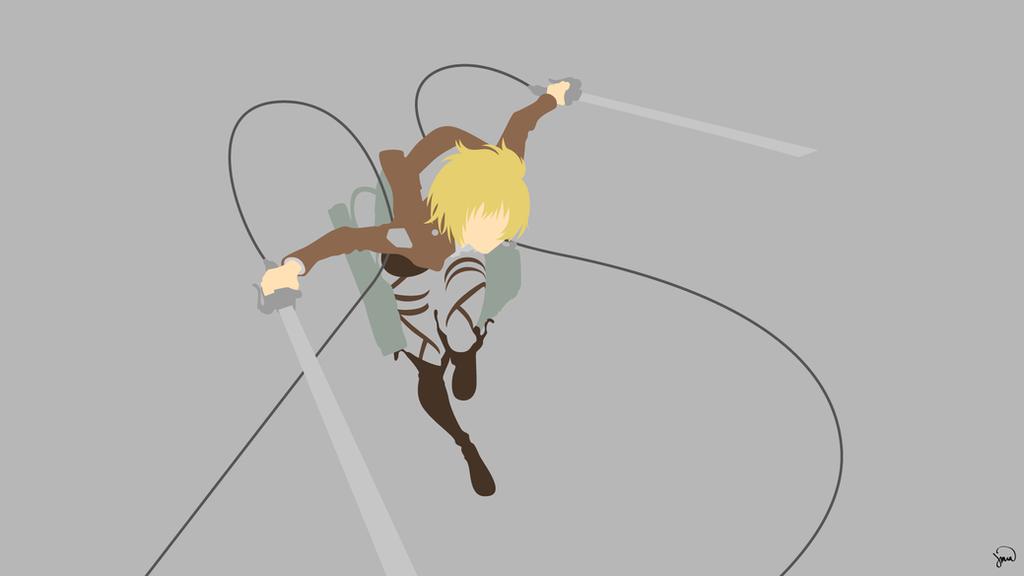 Armin Arlert {Shingeki no Kyojin} by greenmapple17