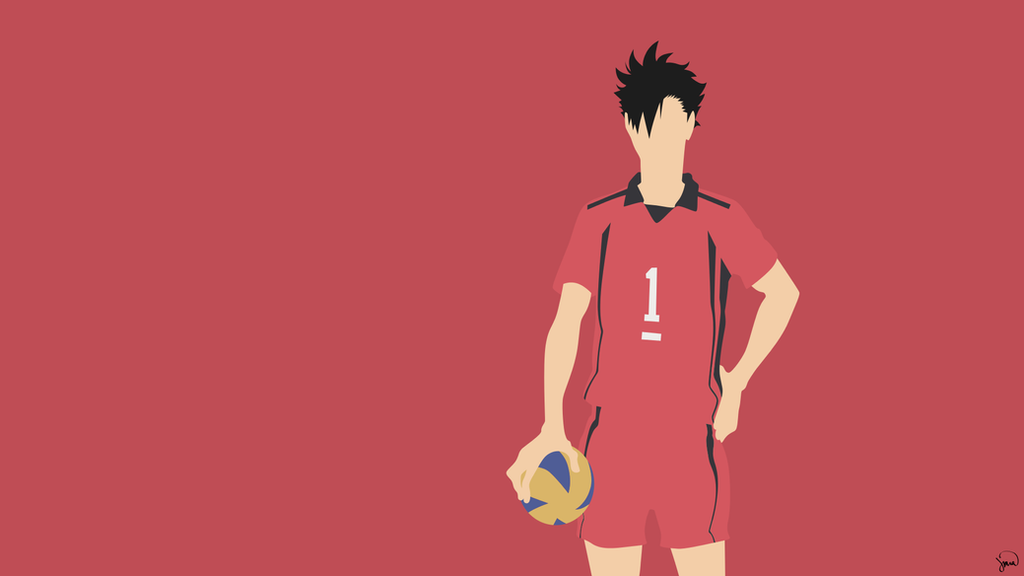 Kuroo tetsurou haikyuu minimalist wallpaper by for Deviantart minimal wallpaper
