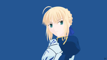 Saber {Fate/Stay Night} Vector