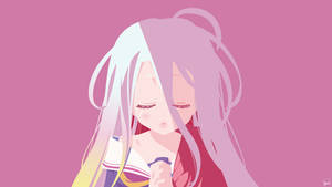 Shiro {No Game No Life} Vector by greenmapple17