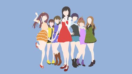 {Wake Up, Girls!} Wallpaper Collab
