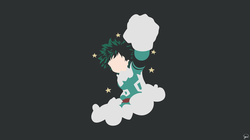 Izuku Midoriya {Boku no Hero Academia} by greenmapple17 on