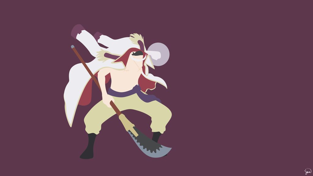 Edward newgate one piece by greenmapple17 on deviantart for Minimalist art pieces