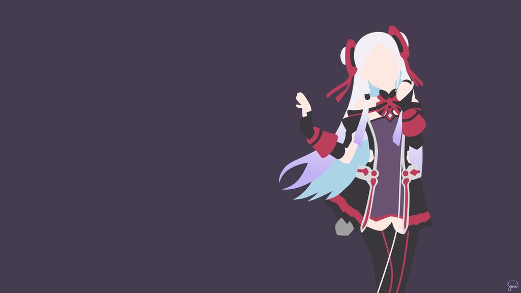 Yuna {Sword Art Online: Ordinal Scale} by greenmapple17 on