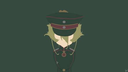 Tanya Degurechaff {Youjo Senki} by greenmapple17