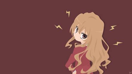 Aisaka Taiga {Toradora} Vector by greenmapple17