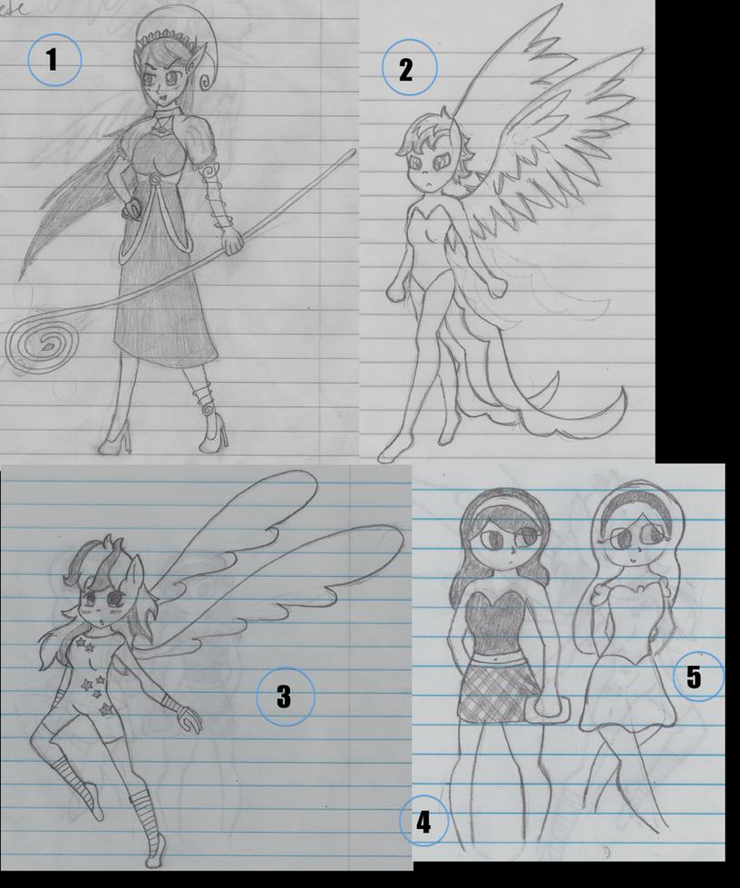 Drawing Humans #2 by shinxgirl8