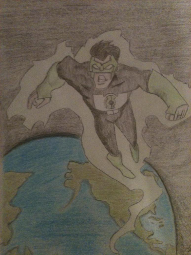 Green Lantern by MoralsLost21