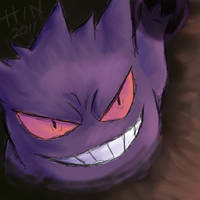 Wild Gengar Appeared by Hinami