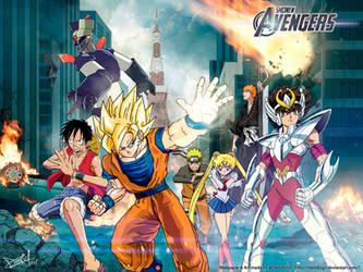 The Shonen Avengers ! by DavidIzGo