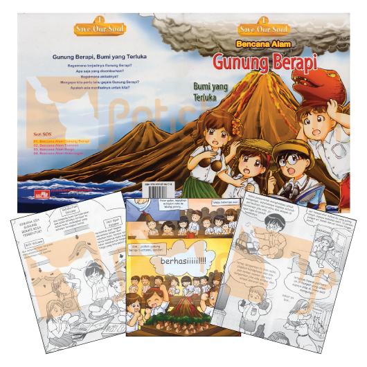 Buku Seri SOS 1:Gunung Berapi