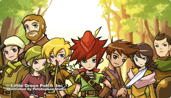 Robin Hood and his gank