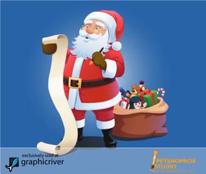 Santa make a list by petshop-studio