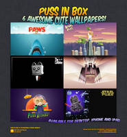 Puss In Box Wallpapers