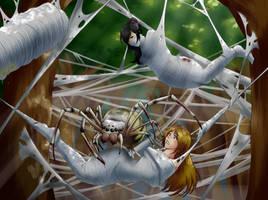 Bug Island Redux by spiderweber