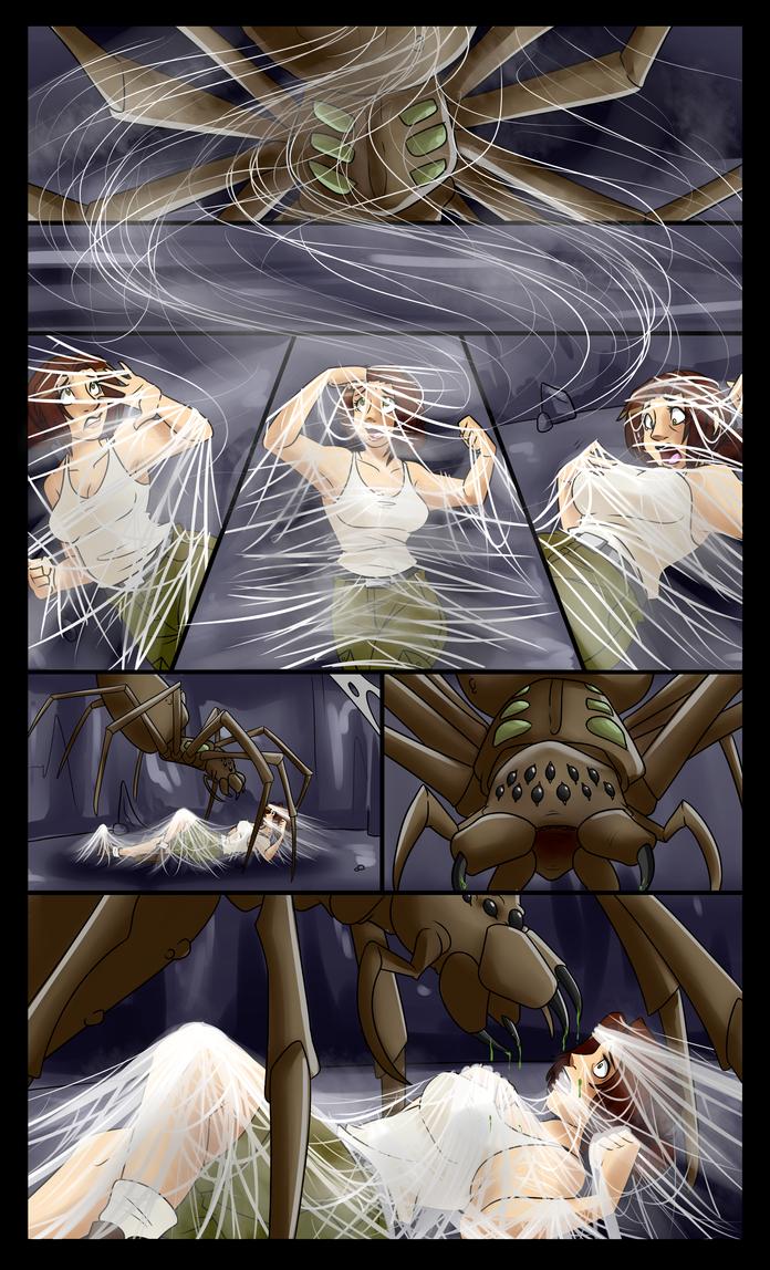 Something Familiar 2: Arachnid (Part 2) by spiderweber
