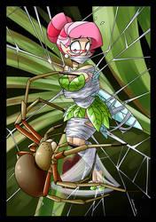 Kinktober Day 21: Spider by spiderweber