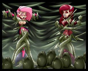 Kinktober Day 17: Alien by spiderweber