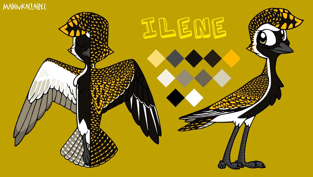 Ilene ref by MadinkaClaireC