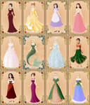 Disney heroines - how they could look by Arrelline
