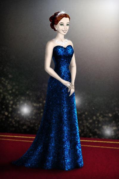 Sapphire star by Arrelline