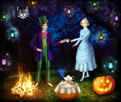 'Book of lives' at Halloween 6 - Wonderful  party by Arrelline