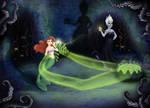 The Little Mermaid - Scene of spell casting