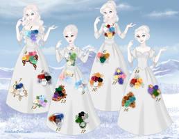 Colour sets by Arrelline