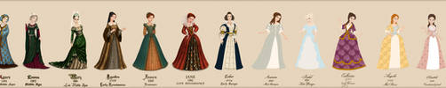 Fashion through the times by Arrelline