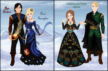 Iris and Thanael's wedding - the guests in black by Arrelline